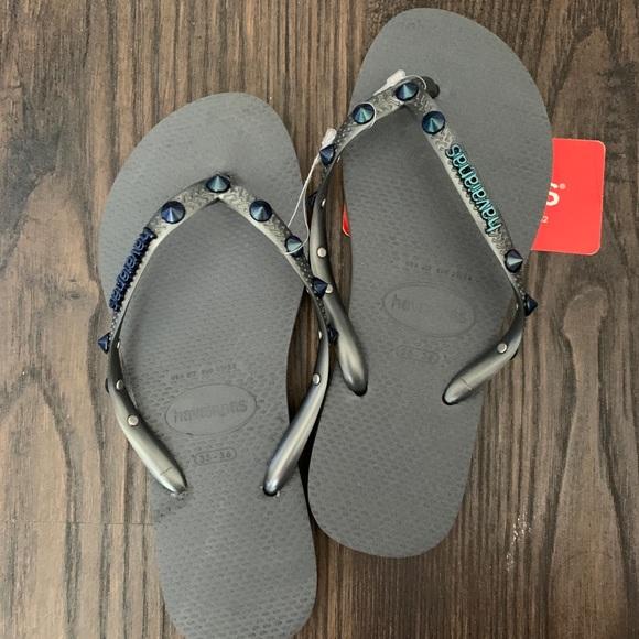 Havaianas Shoes | Nwt Slim Stud Flip